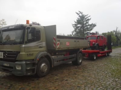 Heinrich Albrecht GmbH Schleswig | Leistungen - Transport